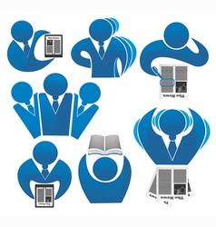 Office work business vector