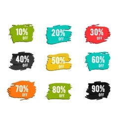 Christmas new year black friday cyber monday or vector image