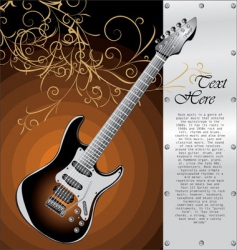 classic Stratocaster vector image vector image