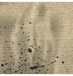 vintage letter background vector image
