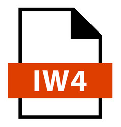 file name extension iw4 type vector image