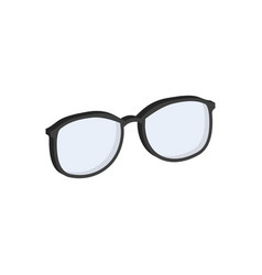 Glasses eyeglasses symbol flat isometric icon or vector