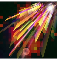 Abstract background with light effect vector