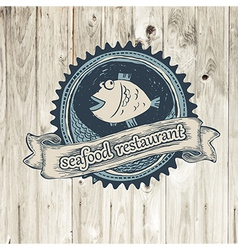 Seafood rest vector