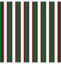 Red white green stripes abstract background vector
