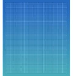 Blueprint architechture grid vector image