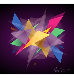 abstract graphic background vector image vector image