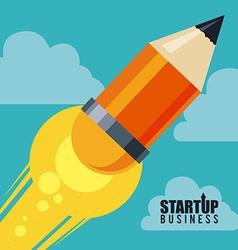 Business start up design vector