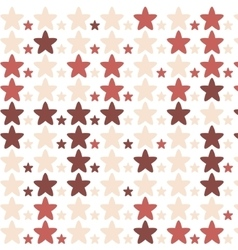 stars pattern red vector image vector image