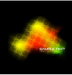 techno background vector image