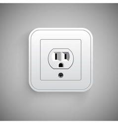 Socket  electrical outlet vector