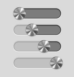 Web interface slider user interface control bar vector
