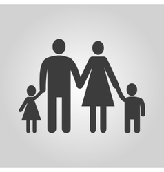 The family icon family symbol flat vector