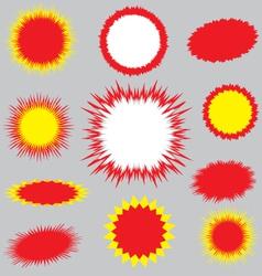 blasts 1 vector image