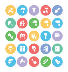 Construction Icons 5 vector image