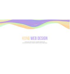 Abstract background website header simple design vector