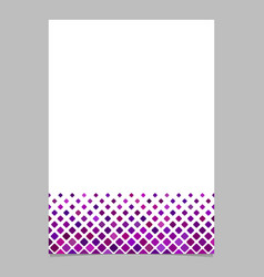 abstract square pattern page background template vector image vector image