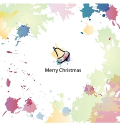 Christmas cartoon background vector image