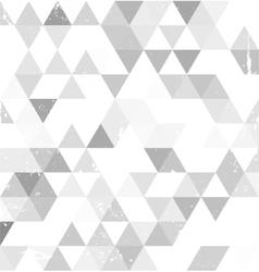 Grey background corner vector image