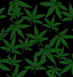 Marijuana pattern vector