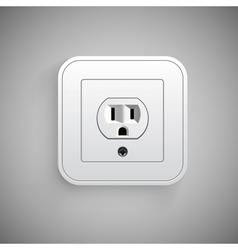 Socket Electrical outlet vector image vector image