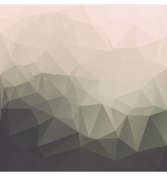 Abstract triangle textured background vector
