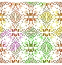 Vintage ornamental seamless pattern vector