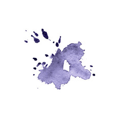 abstract watercolor hand painted background vector image