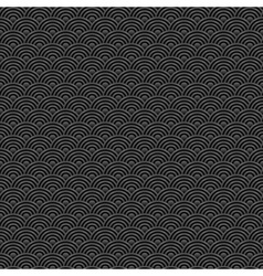 black and grey seamless pattern chinese vector image vector image