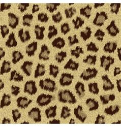 cheetah fur pattern tile vector image