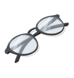 Folded glasses in isometry vector