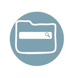 seo web technology vector image