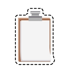 sheet page icon vector image vector image