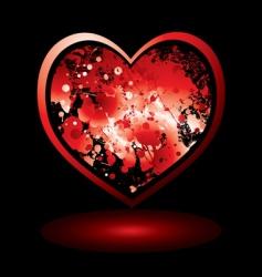 Valentine's spalt vector image vector image