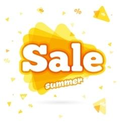 Web Banner sale summer vector image