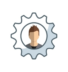 Business people success icon vector