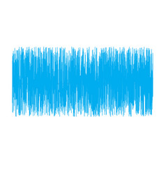 Blue sound wave on white background sound wave vector