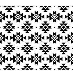 Aztec pattern tribal background navajo vector