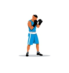 The boxer sign vector