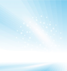 Abstract Blue Glowing Background vector image vector image
