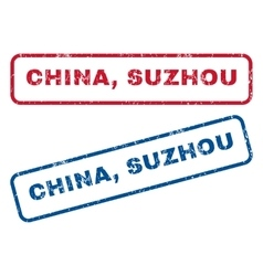 China suzhou rubber stamps vector