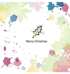 Christmas cartoon background vector image vector image