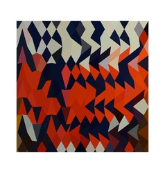 Harlequin abstract low polygon background vector