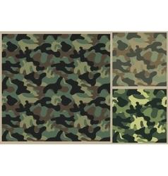 Khaki pattern camouflage texture vector