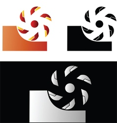 Metalworking symbol 2 vector