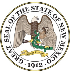 New mexico seal vector