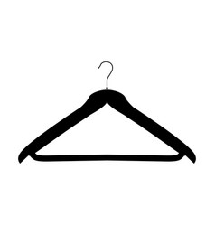 Hanger black color icon vector
