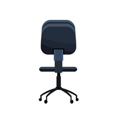 Office chair work style image vector