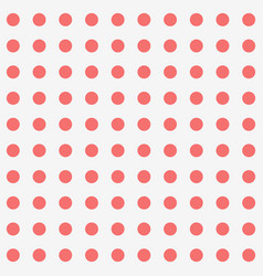 seamless background and red dot pattern vector image