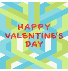Valentines day hand drawing vector image vector image